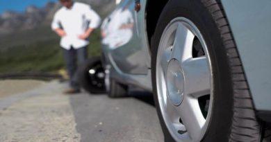 Пробили колесо в дороге: алгоритм действий